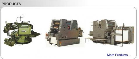 Malaysia Printing Machinery Supplier | Used Print Equipment